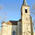 Eglise Sainte-Croix de Bray-sur-Seine, dans le Bassée-Montois, région de Provins