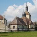 Eglise Saint-Hubert des Marêts, dans le Provinois, région de Provins