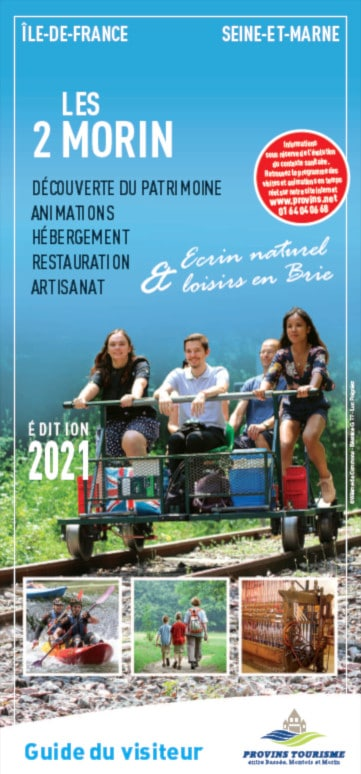 Brochure Visitor' guide of the Valleys of the 2 Morin, Provins region