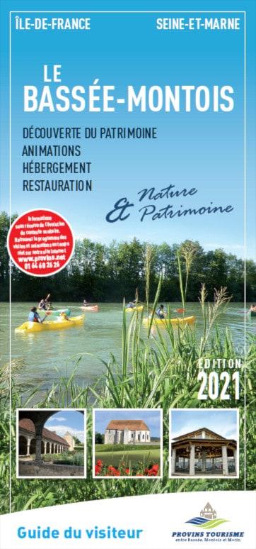 Brochure Visitor' guide of the Bassée-Montois, Provins region