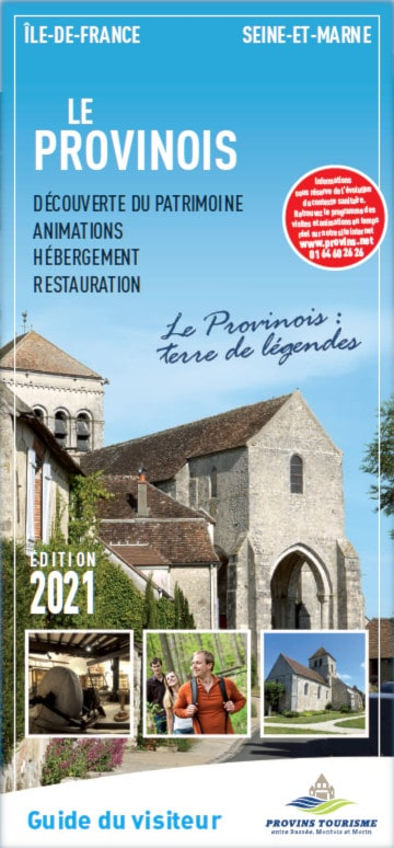 Brochure Visitor' guide of the Provinois, Provins region