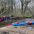 Base de canoë-kayak à Verdelot, proche de Provins
