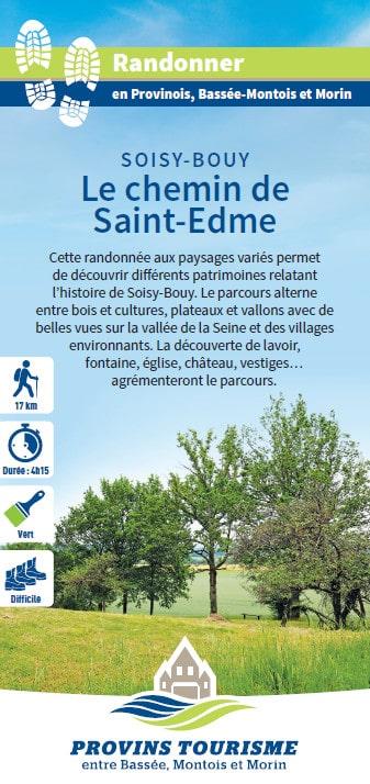 Le chemin de Saint-Edme, randonnée pédestre dans le Provinois, région de Provins