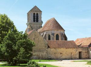 Trois églises du sud Provinois, randonnée pédestre dans le Bassée-Montois, région de Provins