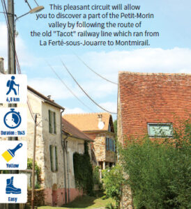 L'Emprunt, hiking in the Valleys of the 2 Morin, Provins region
