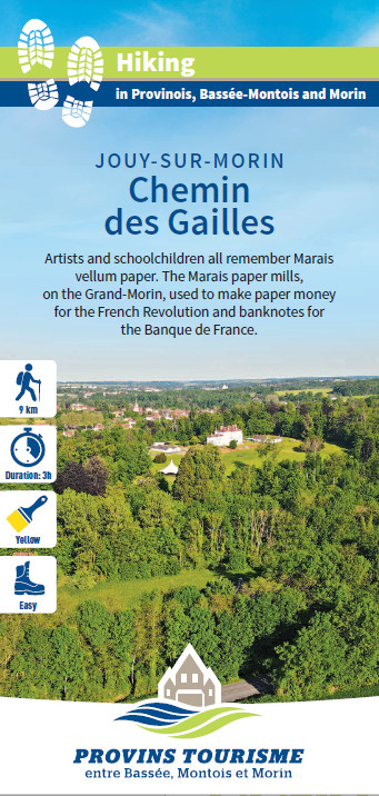 Chemin des Gailles, hiking in the Valleys of the 2 Morin, Provins region