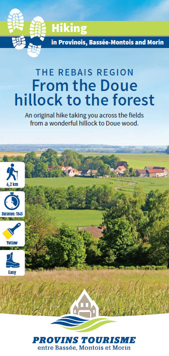 From the Doue hillock to the forest, hiking in the Valleys of the 2 Morin, Provins region