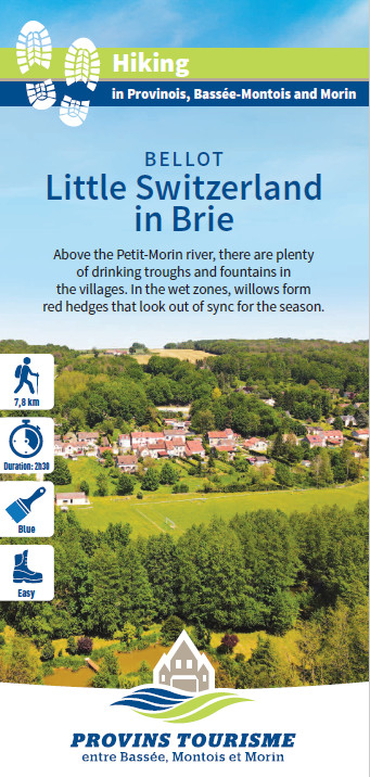 Little Switzerland in Brie, hiking in the Valleys of the 2 Morin, Provins region