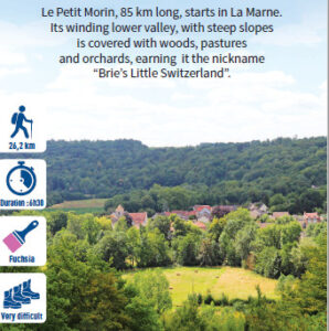 Valley of Le Petit-Morin, hiking in the Valleys of the 2 Morin, Provins region