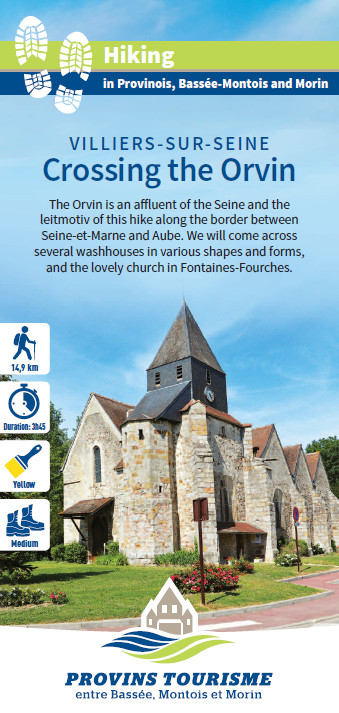 Crossing the Orvin, hiking in the Bassée-Montois, Provins region