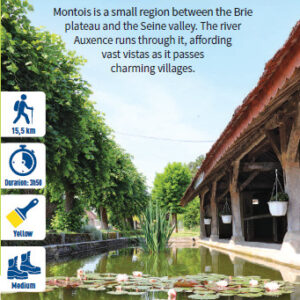 In the heart of the Montois region, hiking in the Bassée-Montois, Provins region
