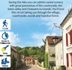 Between Morvois and Brie champenoise, hiking in the Provinois, Provins region