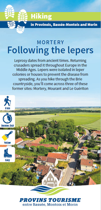 Following the lepers, hiking in the Provinois, Provins region