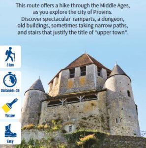 Medieval City of Provins, hiking in Provins