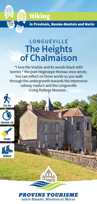 The Heights of Chalmaison, hiking in the Provinois, Provins region