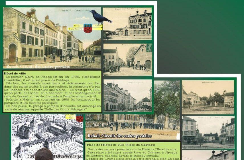 Le circuit des cartes postales de Rebais, proche de Provins