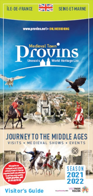 Visitor's guide of Provins in English