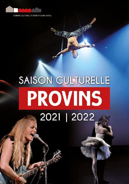 Programme 2021-2022 du Centre Culturel de Provins